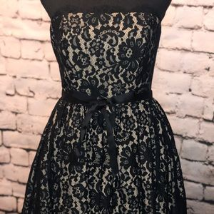 NWT Robert Rodriguez Black lace dress